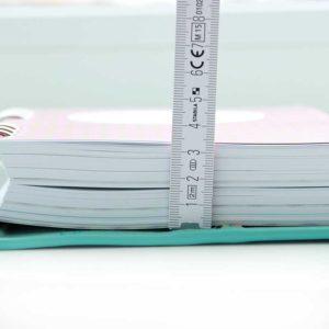 Füllmenge Papier elfenklang planer a5