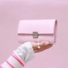 elfenklang portemonnaie leder puder rosa M