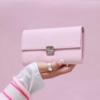 handgemachte kellnerbörsen rosa elfenklang