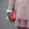 ausgefallene kleine portemonnaies damen leder pink koralle