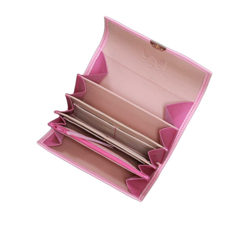 ausgefallene leder geldbörsen damen rosa kaufen