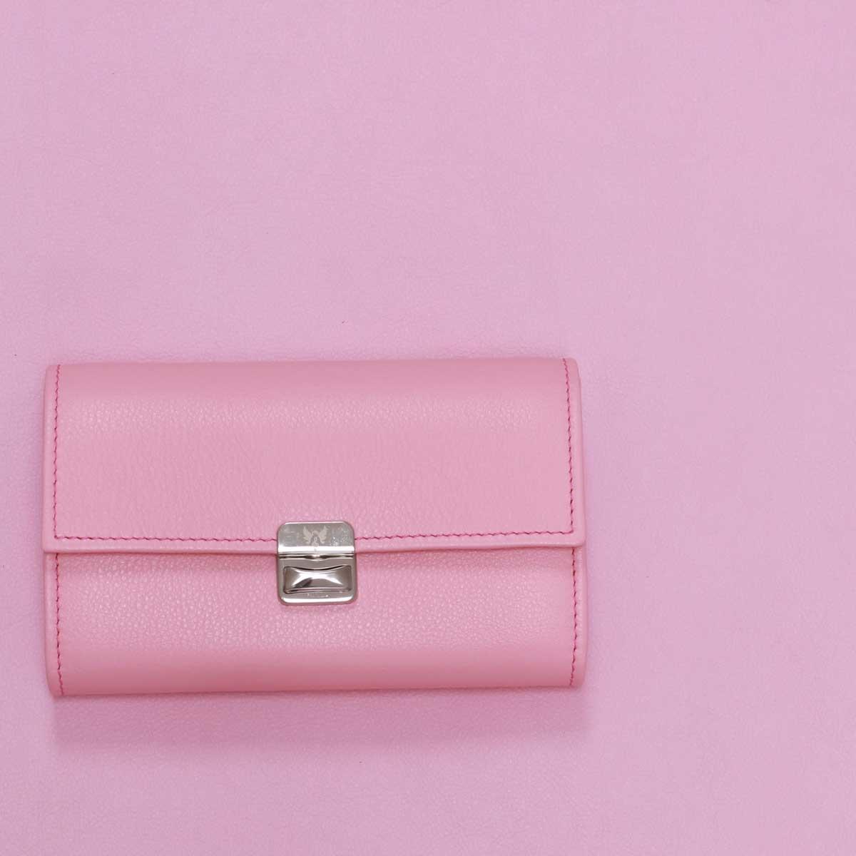 elfenklang shop salzburg rosa geödbörsen aus echtem ledewr
