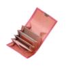 hochwertige leder geldbörsen kaufen kelin peony pink