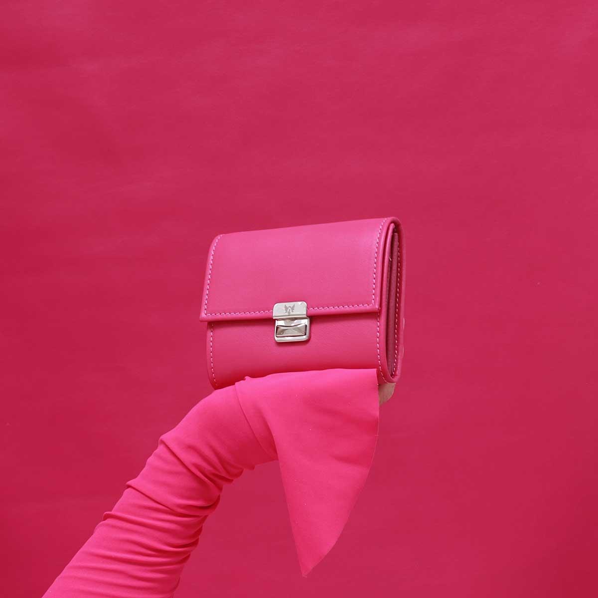 elfenklang geldbeutel pink klein