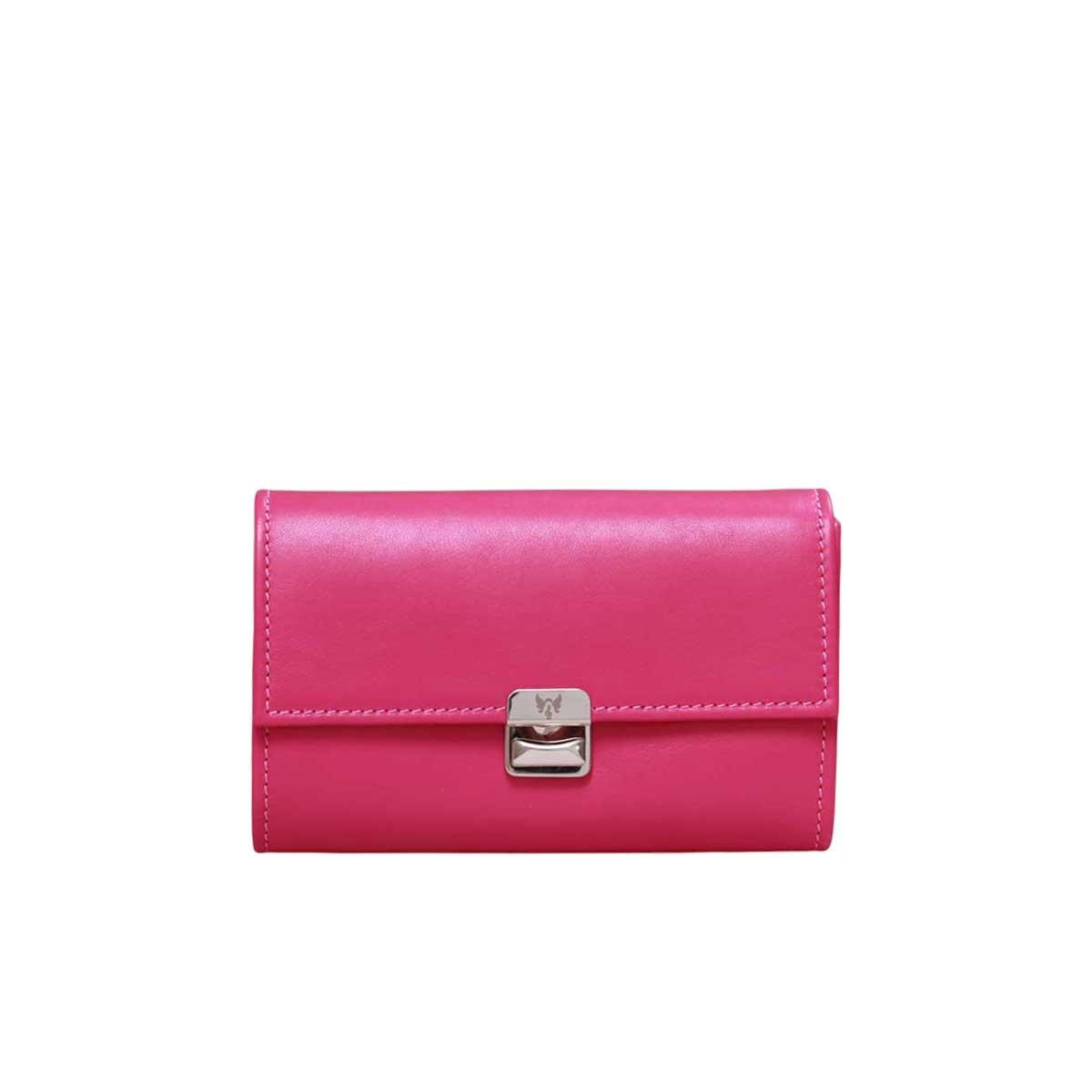 pink portemonnaie damen leder elfenklang