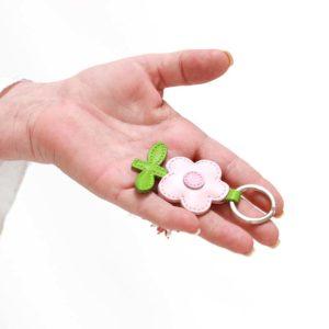 kleine leder schlüsselanhänger als geschenk