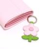elfenklang schlüsselanhänger blume rosa puder