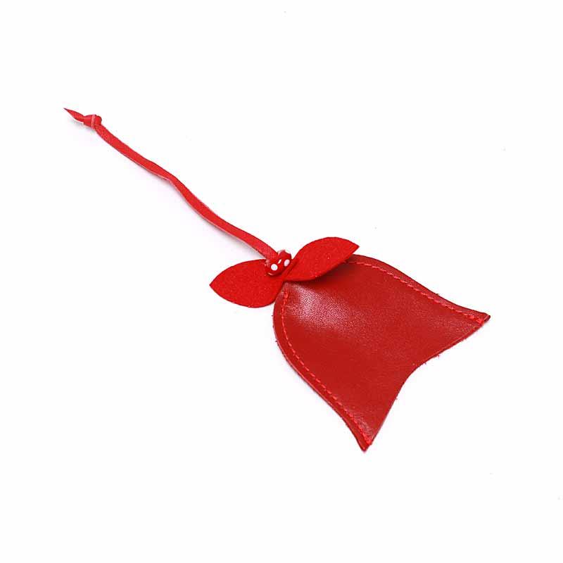 Leder Etui Tulpe Scarlet Rot