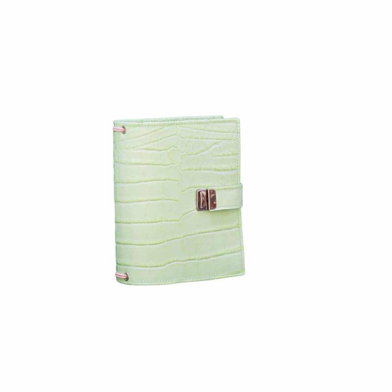 elfenklang travelers notebook b6 kroko grün