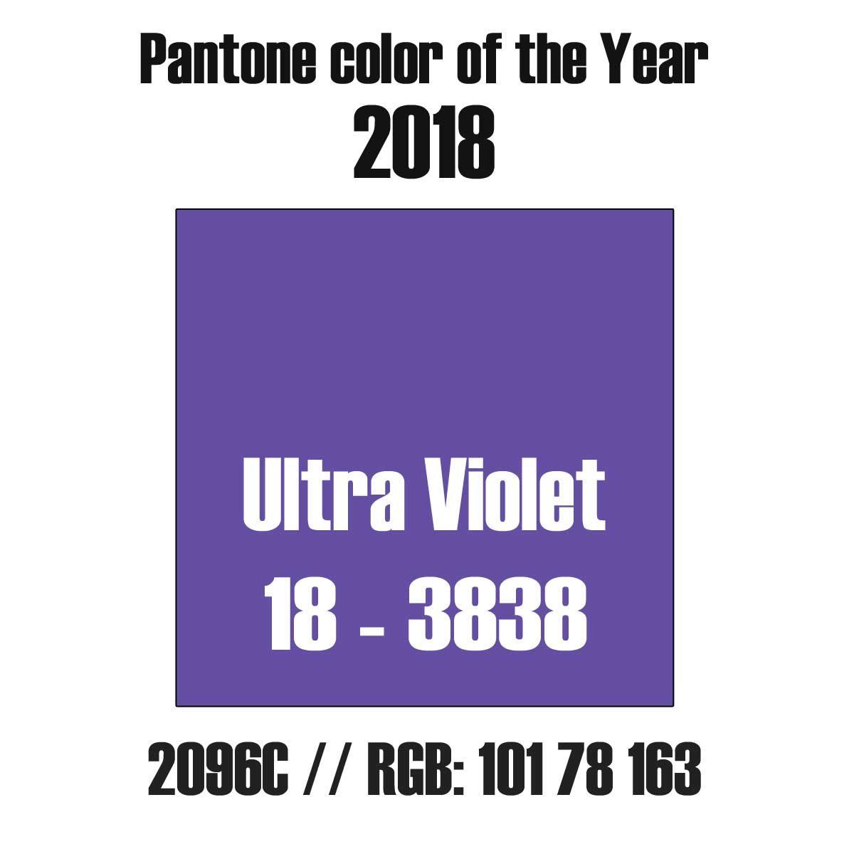 pantone color ultra violet in rgb