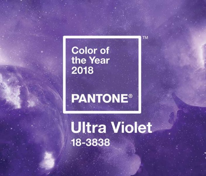 Pantone Farbe des Jahres 2018- Ultra Violet