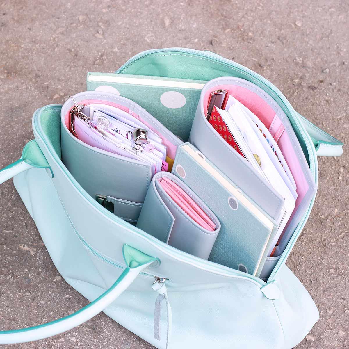 besonder leder handtaschen geldbörsen planner