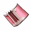 ausgefallene geldbeutel leder schwarz braun