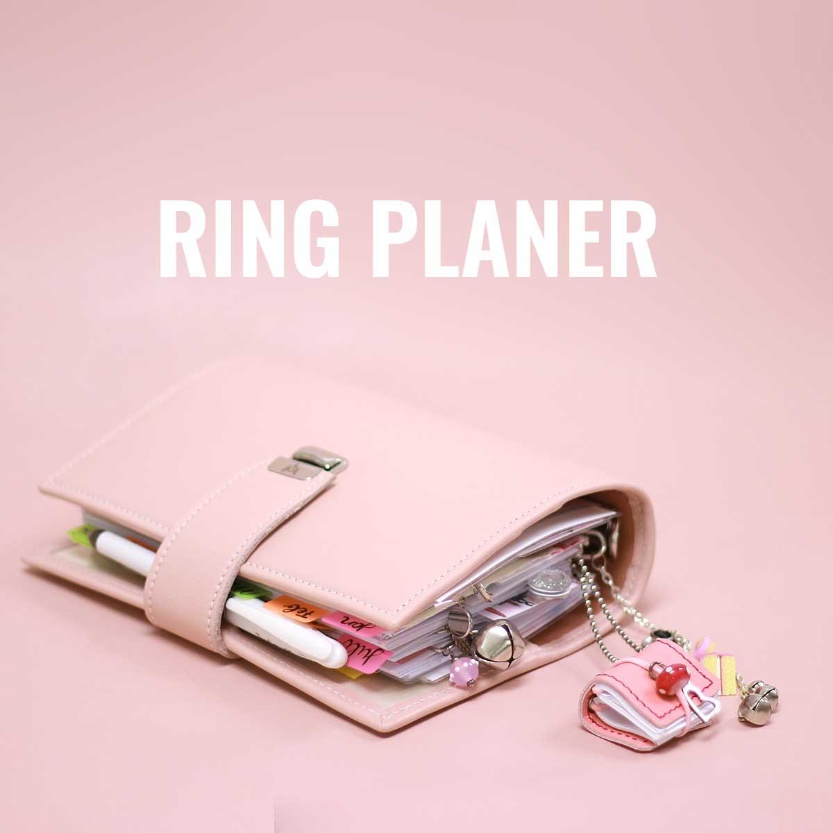 elfenklang personal planer blush rosa