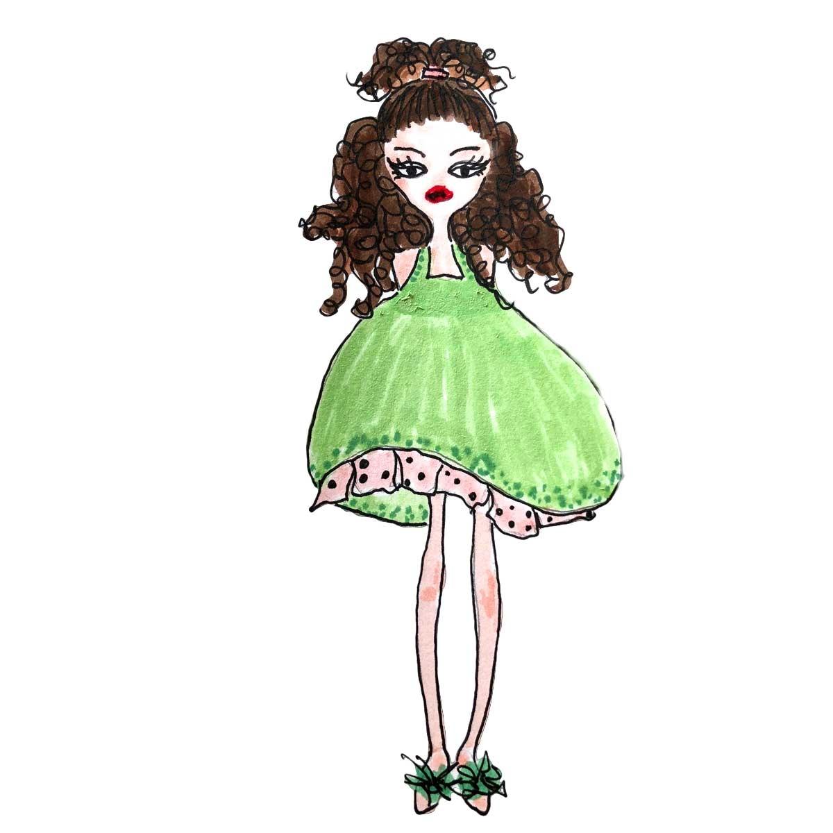 fashion girls zeichnungen