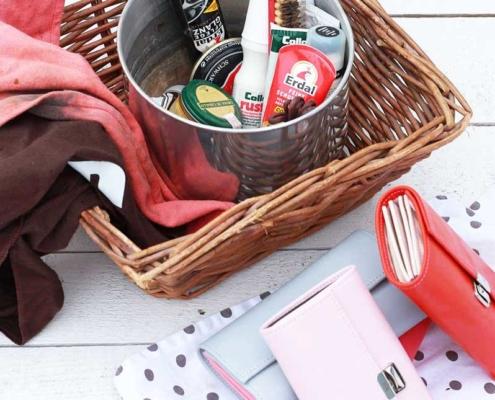 lederpflege tips für leder geldbörsen