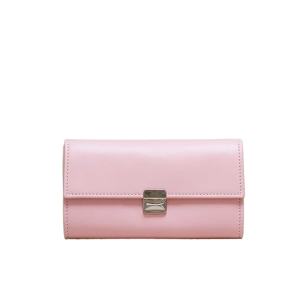 rosa portemonnaies leder elfenklang laerge