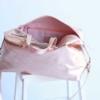besondere taschen leder rosegold