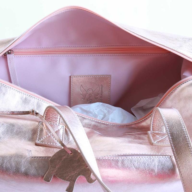 elfenklang reisetasche rosegold