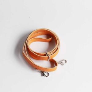 taschen riemen leder lang orange