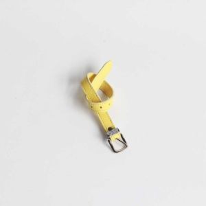 taschen riemen leder gelb Zitrone