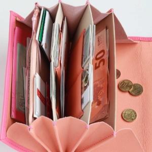 elfenklang portemonnaies xl befüllt mit viel platz