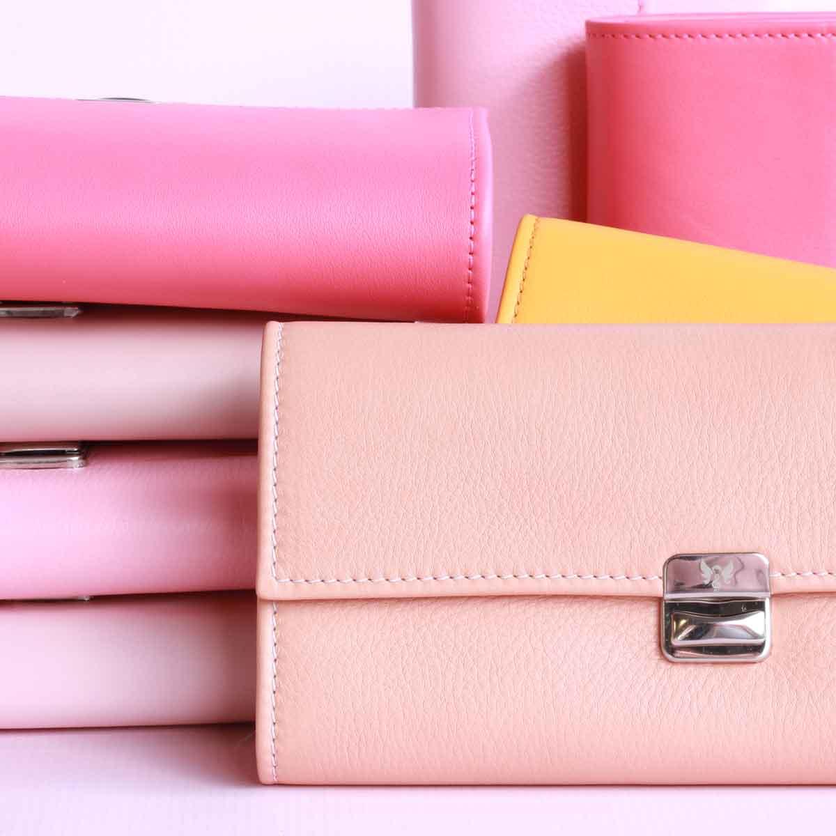 elfenklang geldbörsen pink rosa