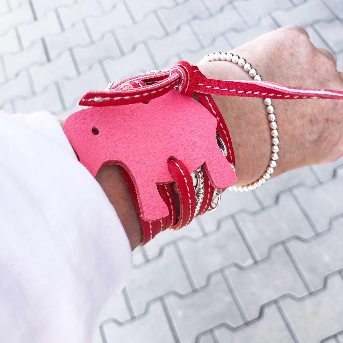 lederarmband rot kaufen