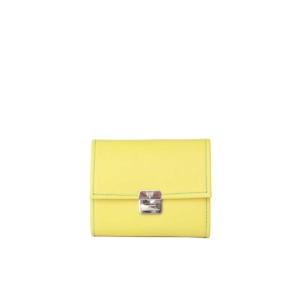 Kleiner Geldbeutel Gelb S