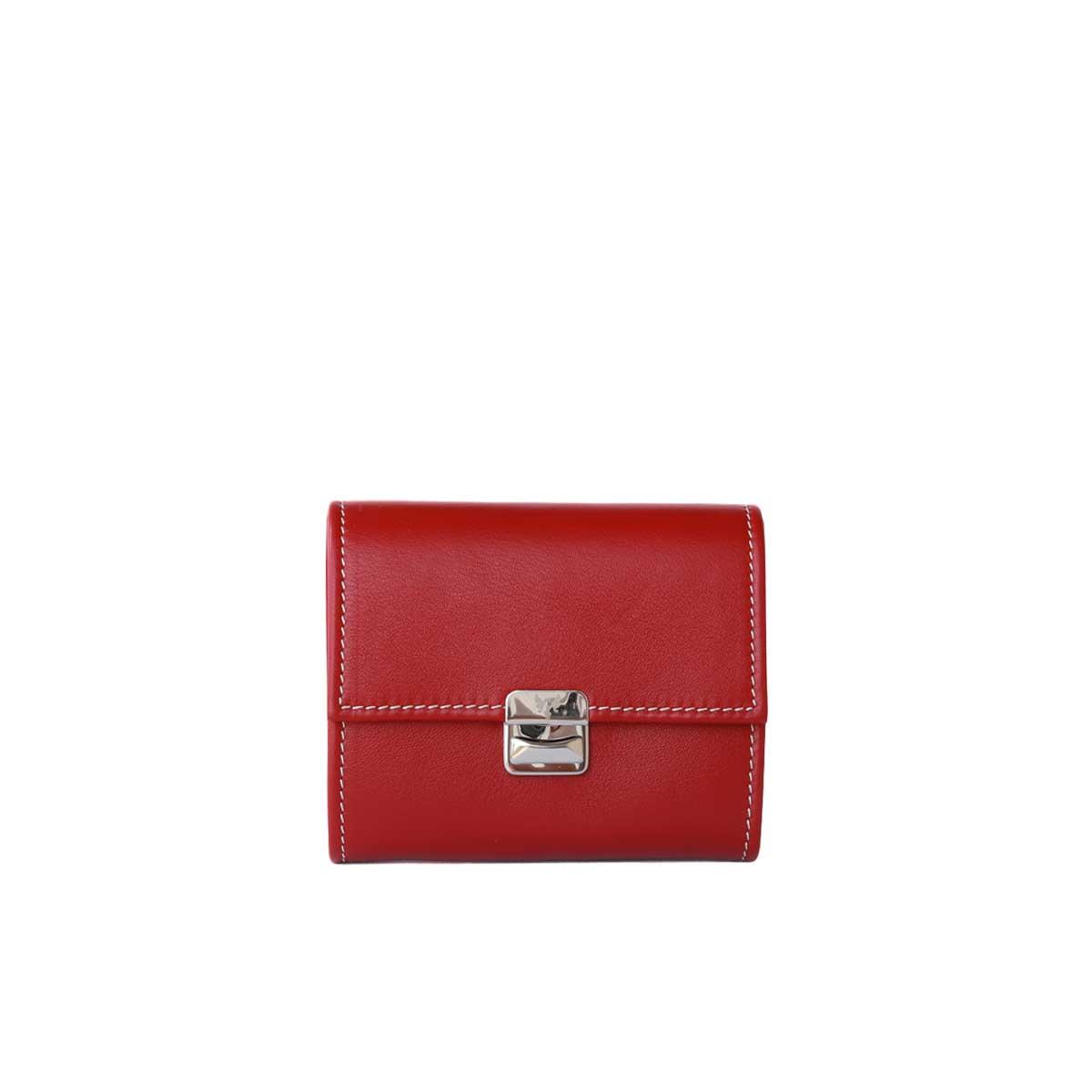 Kleines Damen Portemonnaie Scarlet Rot S