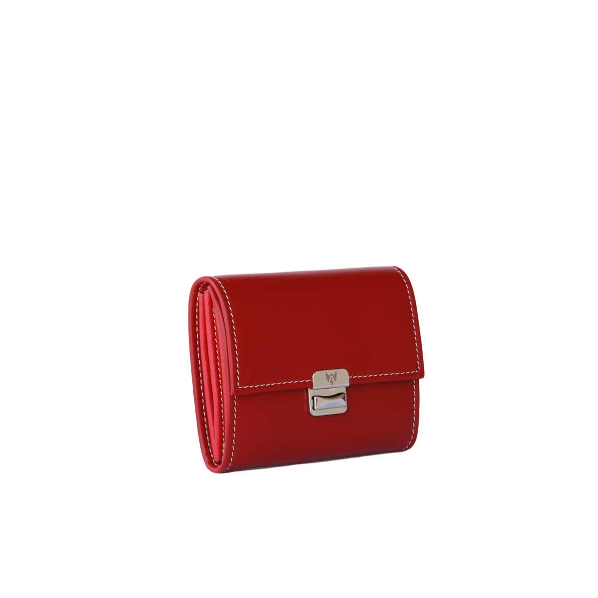 kleine rote damen portemonnaies kaufen leder