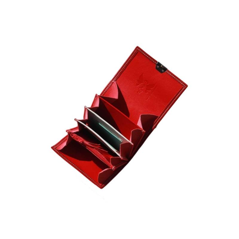 elfenklang geldbeutel rot klein