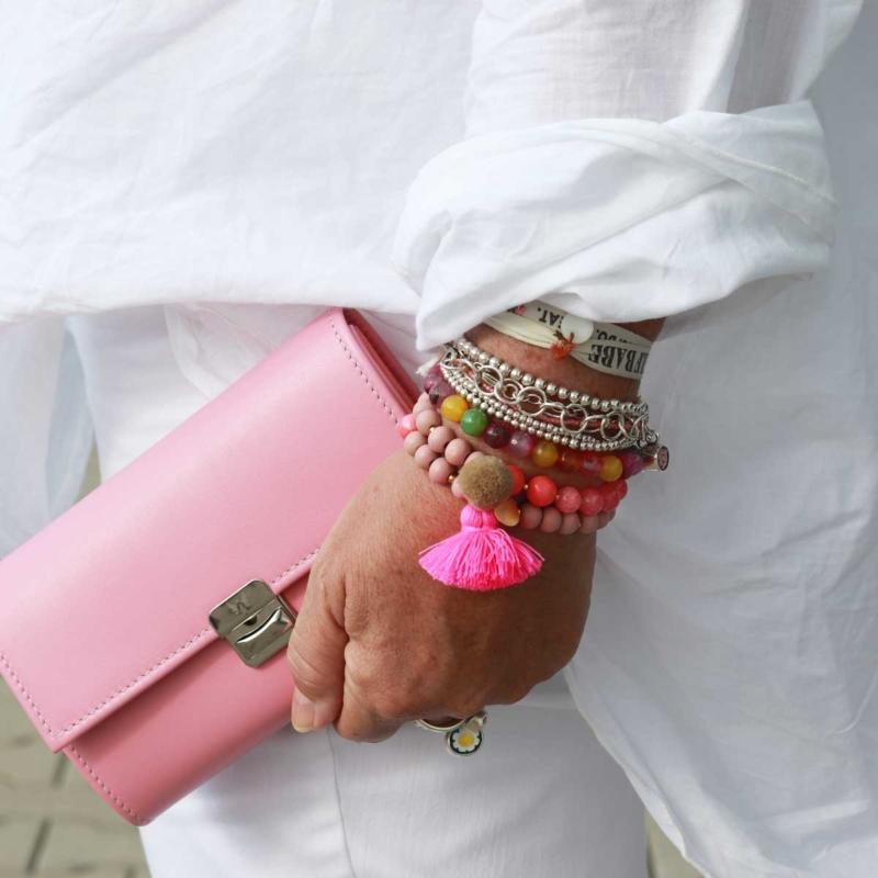 elfenklang geldbeutel leder rosa kaufen