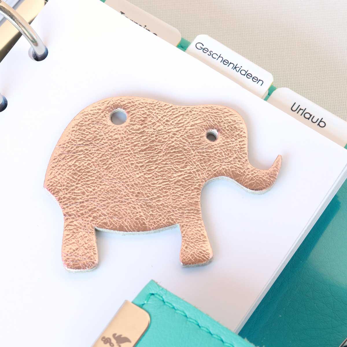 elfenklng elefanten rosegold