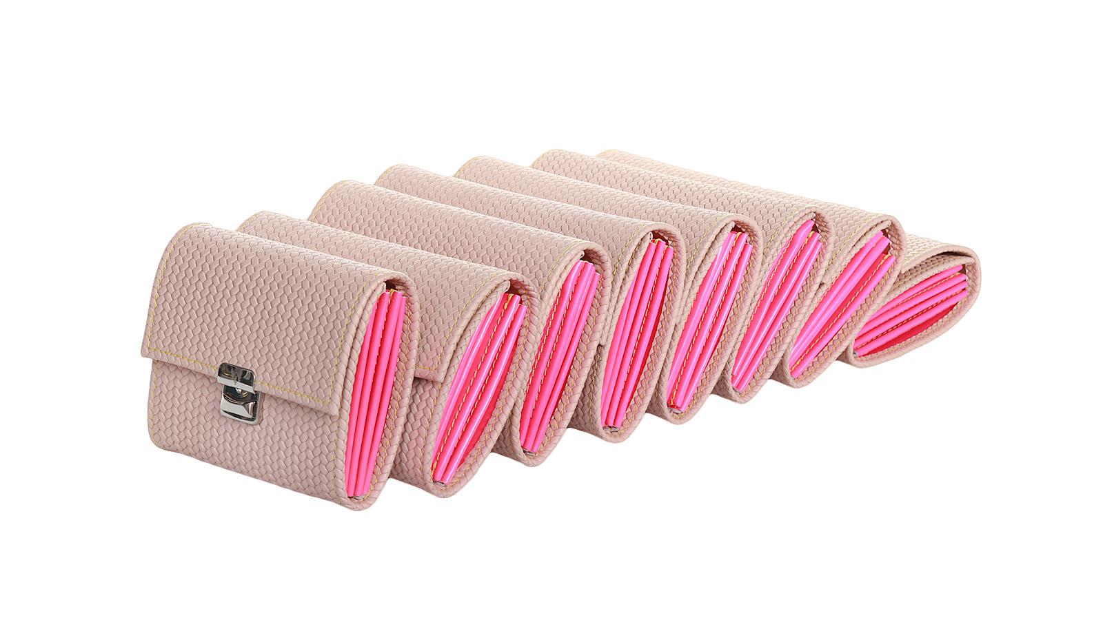 ausgefallene damen geldboersen elfenklang cipria neon pink