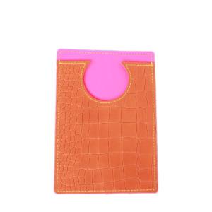 elfenklang brusttasche crossbody kroko orange