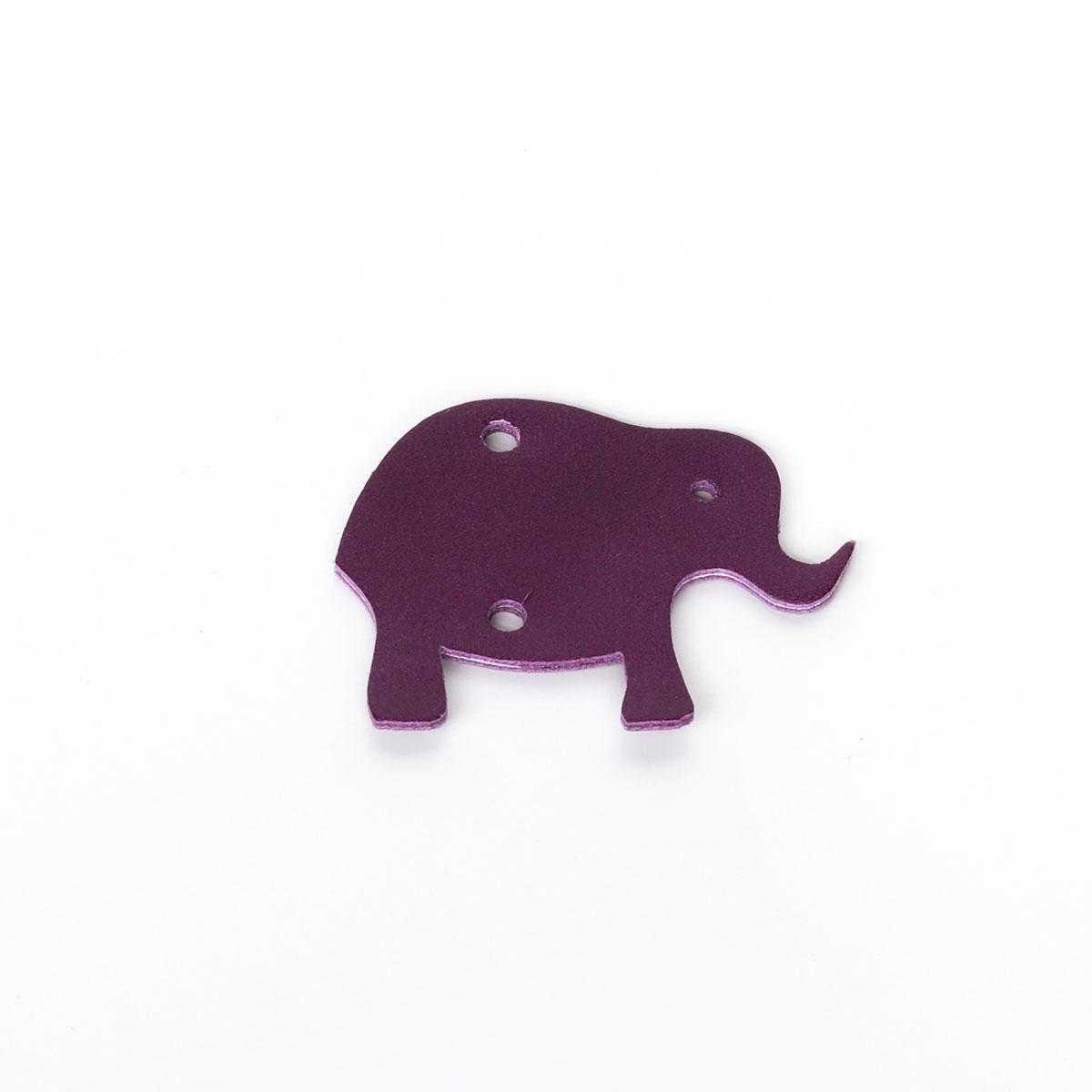 Pflaume elefant elfenklang leder