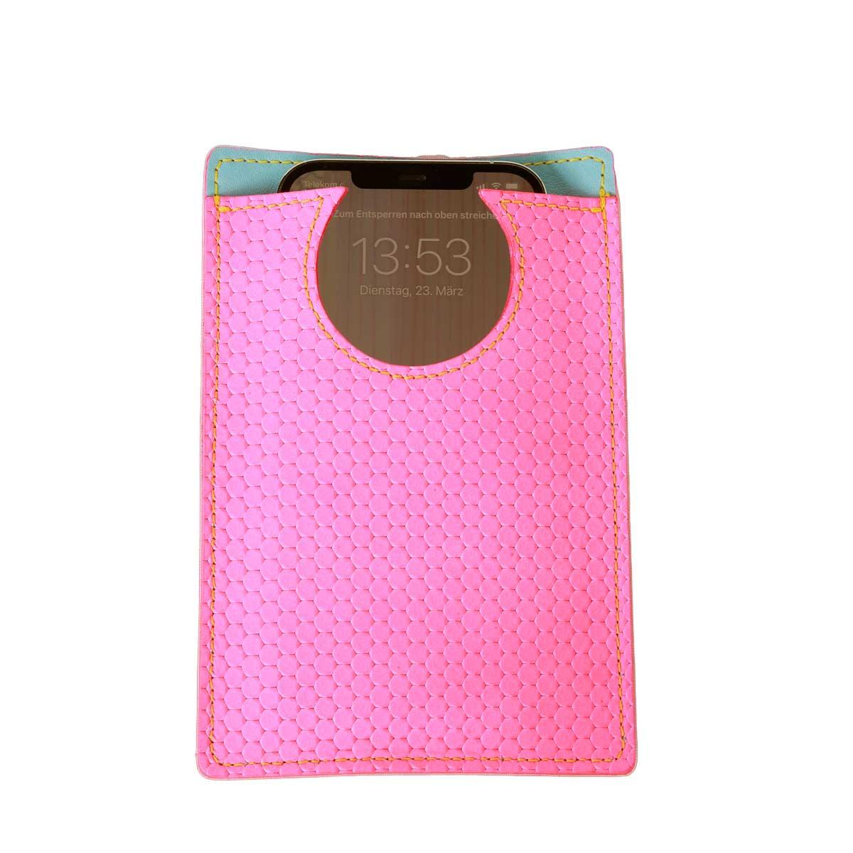 Brustbeutel Crossbody Neon Pink
