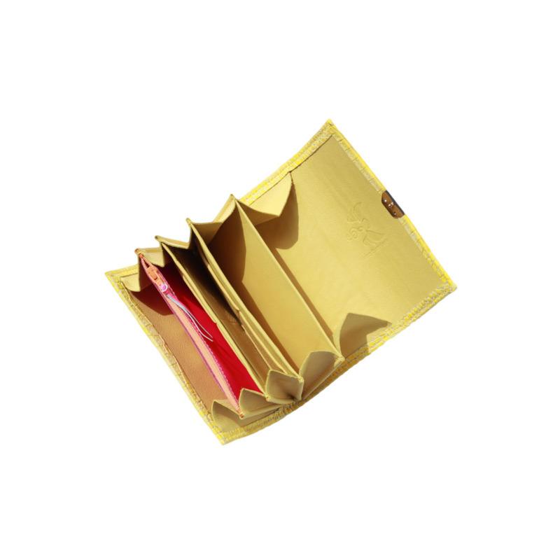 portemonnaies leder gelb elfenklang kaufen