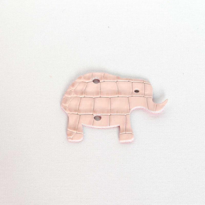 elfenklang leder elefant cocco cipria