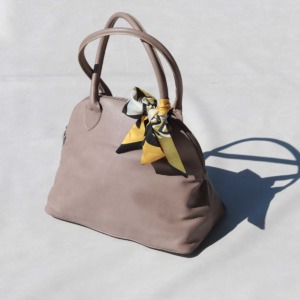 Bowling Bag Small Taupe